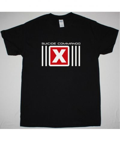 SUICIDE COMMANDO LOGO NEW BLACK T SHIRT