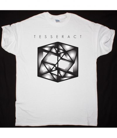 TESSERACT ODYSSEY NEW WHITE T SHIRT