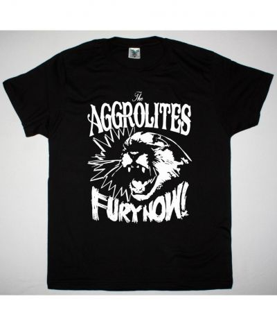 THE AGGROLITES FURY NOW NEW BLACK T SHIRT