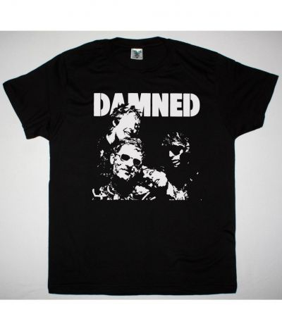 THE DAMNED DAMNED DAMNED DAMNED NEW BLACK T SHIRT
