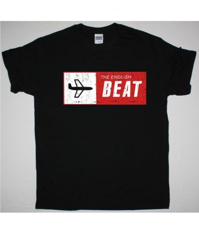 THE ENGLISH BEAT SPECIAL BEAT SERVICE NEW BLACK T SHIRT