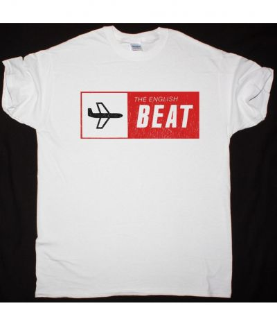 THE ENGLISH BEAT SPECIAL BEAT SERVICE NEW WHITE T SHIRT