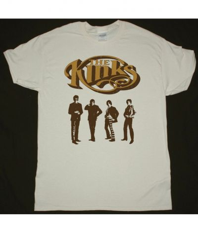 THE KINKS BAND NEW NATURAL T SHIRT