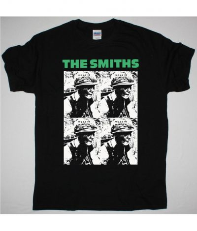 THE SMITHS MEAT IS MURDER NEW BLACK T SHIRT