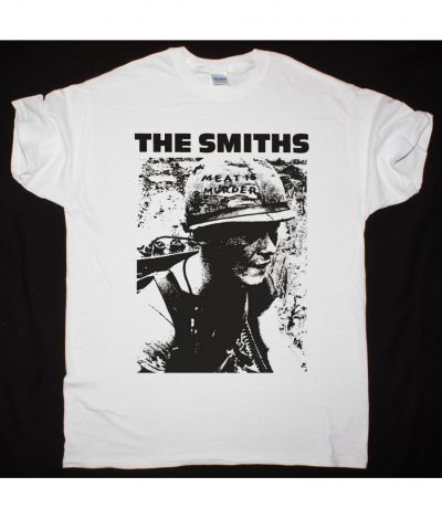 THE SMITHS MEAT IS MURDER NEW WHITE T SHIRT