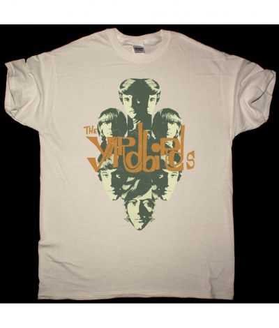 THE YARDBIRDS BAND NEW NATURAL T SHIRT