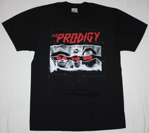 THE PRODIGY INVADERS MUST DIE NEW BLACK T-SHIRT