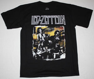 LED ZEPPELIN  BAND NEW BLACK T-SHIRT