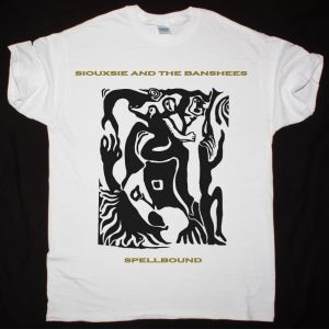 SIOUXSIE AND THE BANSHEES SPELLBOUND NEW WHITE T SHIRT