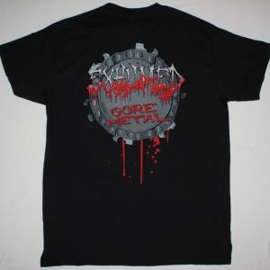 EXHUMED GORE METAL NEW BLACK T-SHIRT