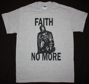FAITH NO MORE GIMP NEW SPORTS GREY T-SHIRT