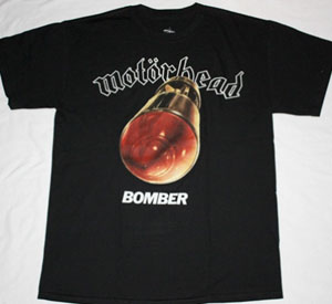 MOTORHEAD BOMBER'79 NEW BLACK T-SHIRT