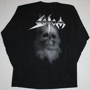 SODOM AGENT ORANGE 1989 NEW LONG SLEEVE BLACK T-SHIRT