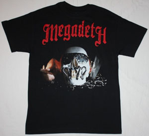 MEGADETH KILLING IS MY BUSINESS'85  NEW BLACK T-SHIRT