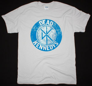 DEAD KENNEDYS LOGO BEDTIME FOR DEMOCRACY NEW ICE GREY T-SHIRT