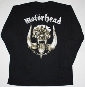MOTORHEAD KISS OF DEATH '06 S-XXL NEW BLACK LONG SLEEVE T-SHIRT