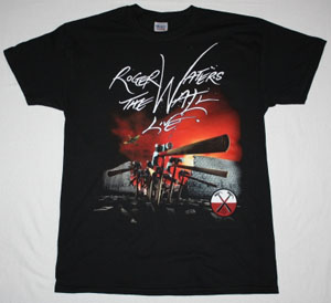 ROGER WATERS THE WALL LIVE 2013 TOUR EUROPE NEW BLACK T-SHIRT
