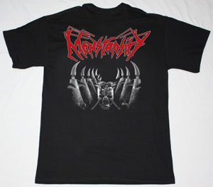 MONSTROSITY  IMPERIAL DOOM 1992 NEW BLACK T-SHIRT