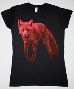 THE PRODIGY FOX / THE DAY IS MY ENEMY 2015 NEW BLACK LADY T-SHIRT