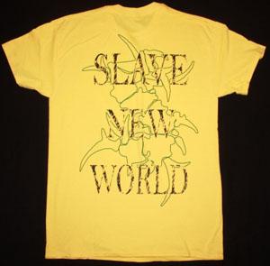 SEPULTURA SLAVE NEW WORLD'93 NEW YELLOW T-SHIRT