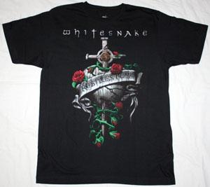 WHITESNAKE RESTLESS HEART '97 NEW BLACK T-SHIRT