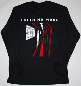FAITH NO MORE KING FOR A DAY'95 NEW BLACK LONG SLEEVE T-SHIRT