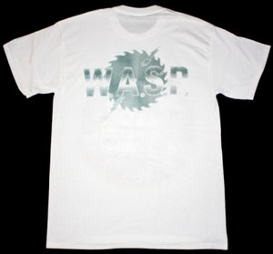 W.A.S.P. HEADS NEW WHITE T-SHIRT
