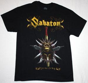 SABATON THE ART OF WAR NEW BLACK T-SHIRT