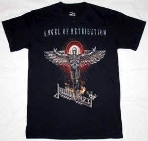 JUDAS PRIEST ANGEL OF RETRIBUTION NEW BLACK T-SHIRT