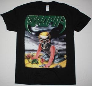 ATROPHY VIOLENT BY NATURE TOUR 1990 NEW BLACK T-SHIRT