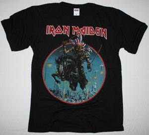 IRON MAIDEN MAIDEN ENGLAND TOUR 2014 NEW BLACK T-SHIRT