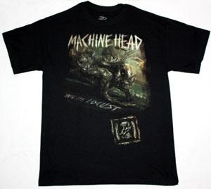 MACHINE HEAD UNTO THE LOCUST NEW BLACK T-SHIRT