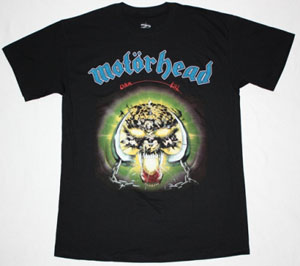 MOTORHEAD OVERKILL'79 NEW BLACK T-SHIRT