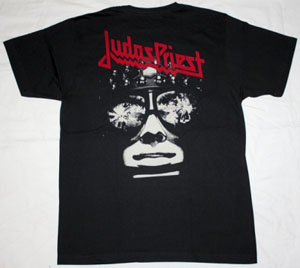 JUDAS PRIEST KILLING MACHINE HELL BENT FOR LEATHER'78 NEW BLACK T-SHIRT