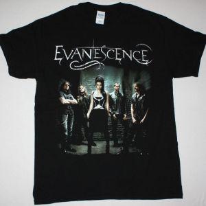 EVANESCENCE BAND NEW BLACK T SHIRT