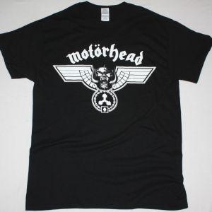 MOTORHEAD HAMMERED LOGO NEW BLACK T-SHIRT