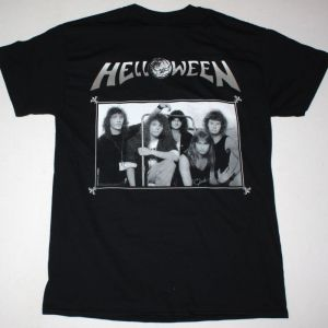 HELLOWEEN KEEPER OF THE SEVEN KEYS II NEW BLACK T-SHIRT