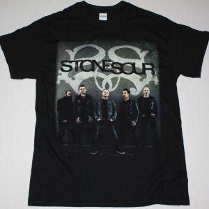 STONE SOUR TOUR 2018 NEW BLACK T-SHIRT