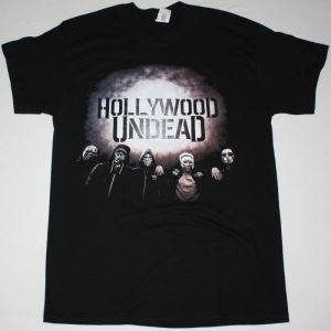 HOLLYWOOD UNDEAD TOUR 2018 NEW BLACK T-SHIRT