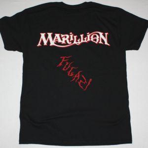 MARILLION FUGAZI 1984 NEW BLACK T-SHIRT