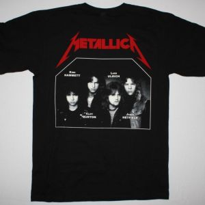 METALLICA KILL'EM ALL 1983  NEW BLACK T-SHIRT