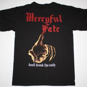 MERCYFUL FATE DON'T BREAK THE OATH'84 NEW BLACK T-SHIRT