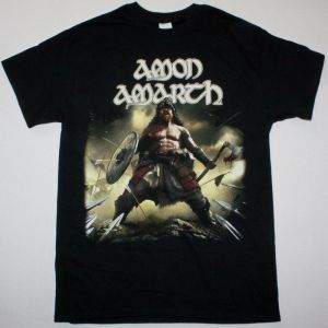 AMON AMARTH BERSERKER NEW BLACK T-SHIRT