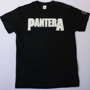 PANTERA LOGO CFH NEW BLACK T-SHIRT