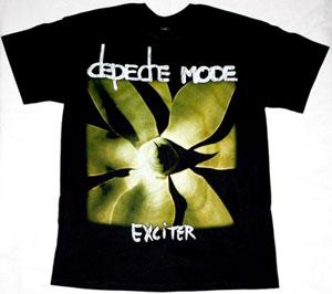 DEPECHE MODE EXCITER 2001 NEW BLACK T-SHIRT
