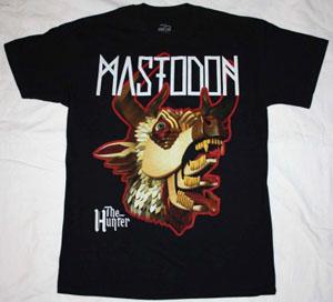 MASTODON THE HUNTER HEAD NEW BLACK T-SHIRT