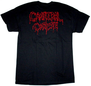 CANNIBAL CORPSE HAMMER SMASHED FACE 1993 NEW BLACK T-SHIRT
