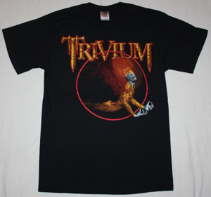 TRIVIUM ASCENDANCY '05 NEW BLACK T-SHIRT