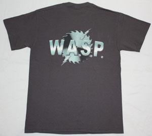 W.A.S.P. HEADS NEW GREY T-SHIRT