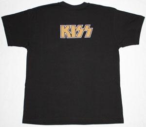 KISS DRESSED TO KILL'75  BLACK T-SHIRT